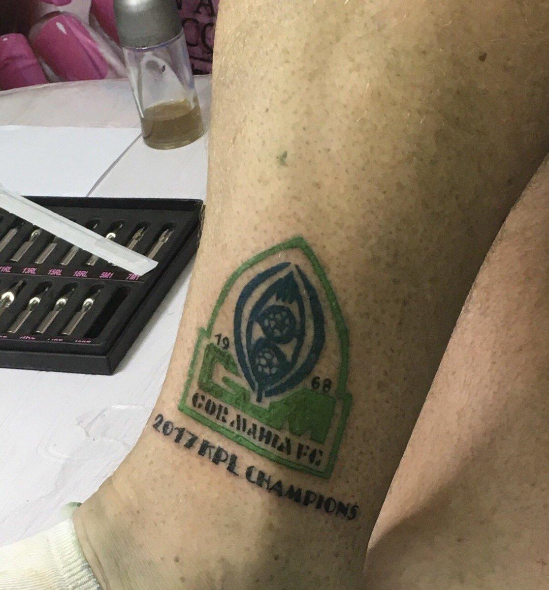 Dylan Kerr tattoo