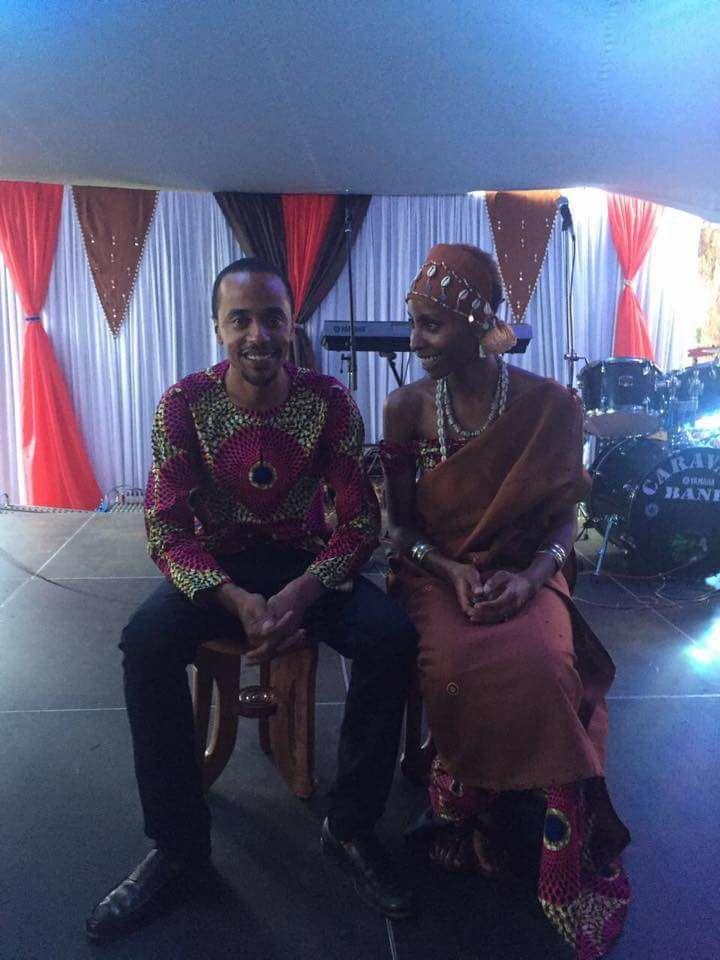 Jomo and Achola wedding
