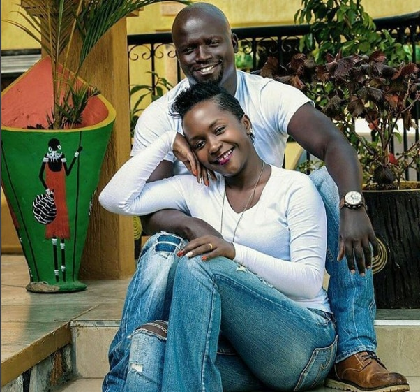 Anne Kansiime and her husband Gerald Ojok