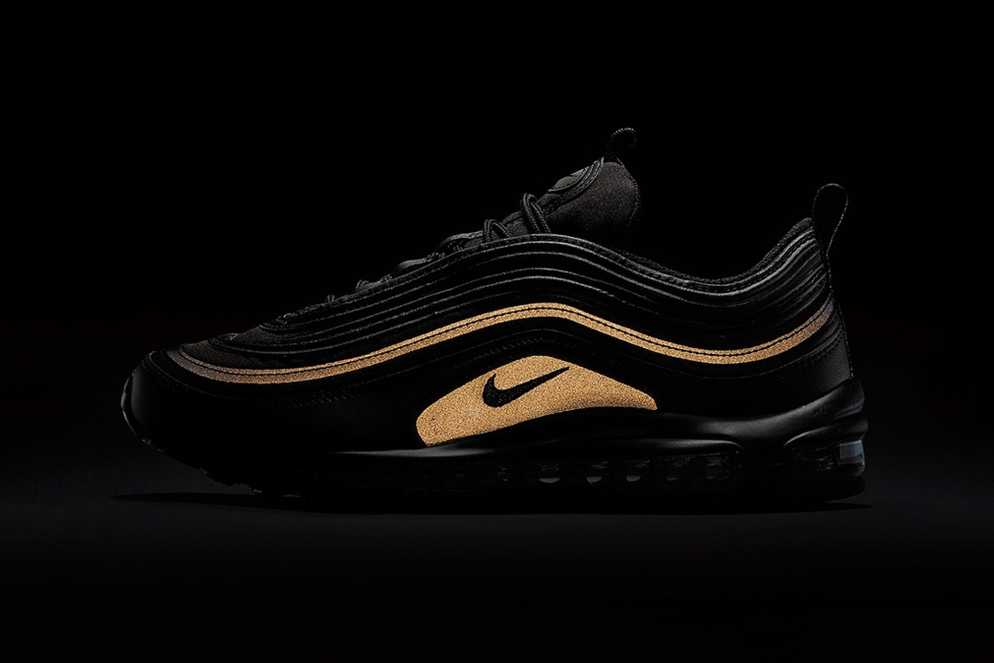Nike Air Max 97 Black reflective. photo credit: highsnobiety