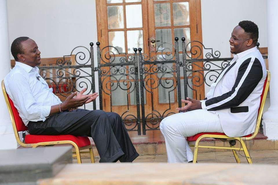 Uhuru Kenyatta and Rufftone