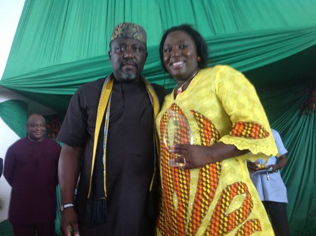 Governor Okorocha swears in his sister as Commissioner for Happiness