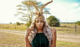 it doesn't get more African that this, Victoria Kimani the princess