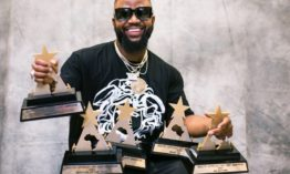 Cassper Nyovest bags 6 awards in one night
