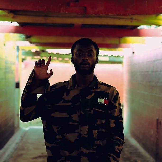Domani Munga on set of the 'Mungu 3' music video. photo credit: Instagram/domani_mkadinali