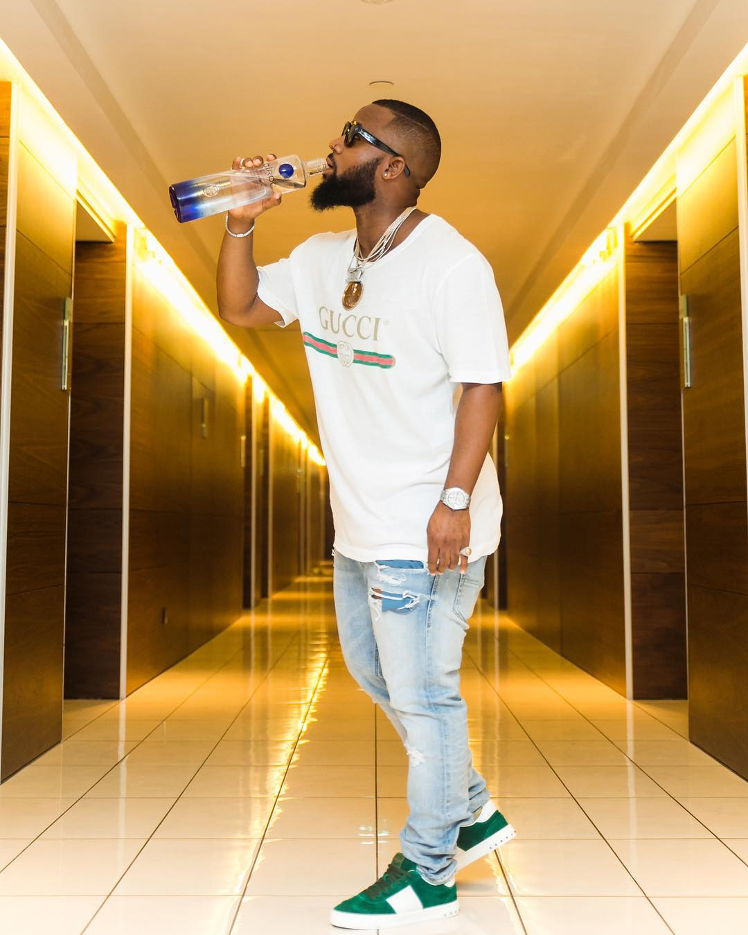 Cassper Nyovest's post before winning the best hip hop award
