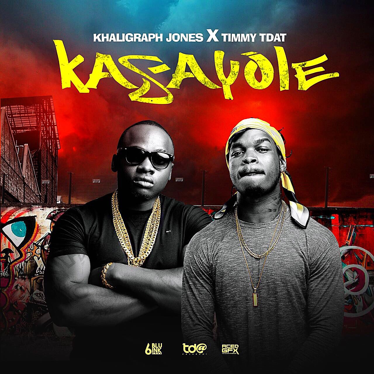 Timmy Tdat and Khaligraph Jones' 'Kasayole'  cover art
