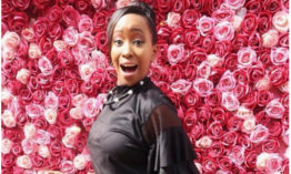 Janet Mbugua fails to adhere to the usual tradition as she celebrates her 34th birthday