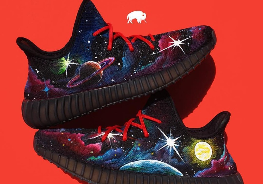 these are the best custom Yeezy 350s