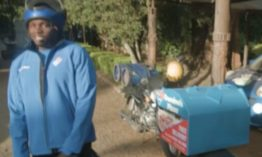 Khaligraph Jones becomes a pizza delivery guy, this is what happens