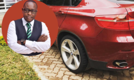 King Kaka's manager Dennis Njenga celebrates Valentine's day by buying an expensive car