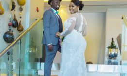 ICYMI: Risper Faith got married this past weekend to her sweetheart Brian Muiruri