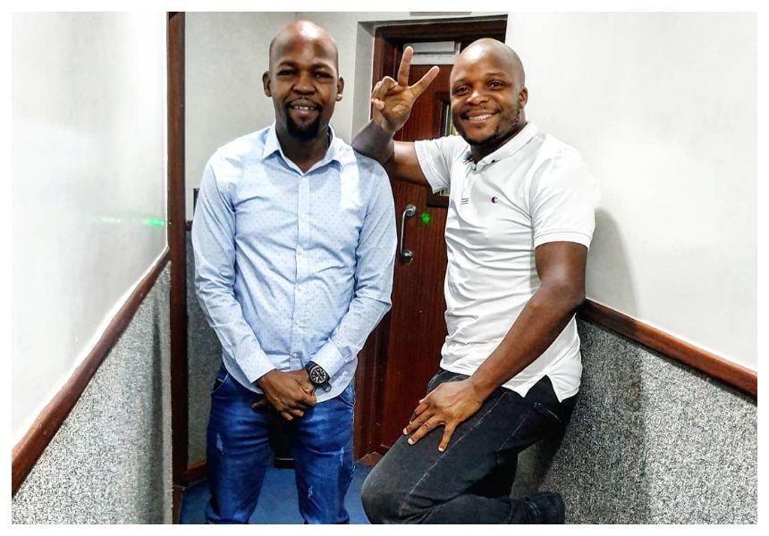 Jalang'o gets a new co-host as Alex Mwakideu is hospitalized » Biggest Kaka