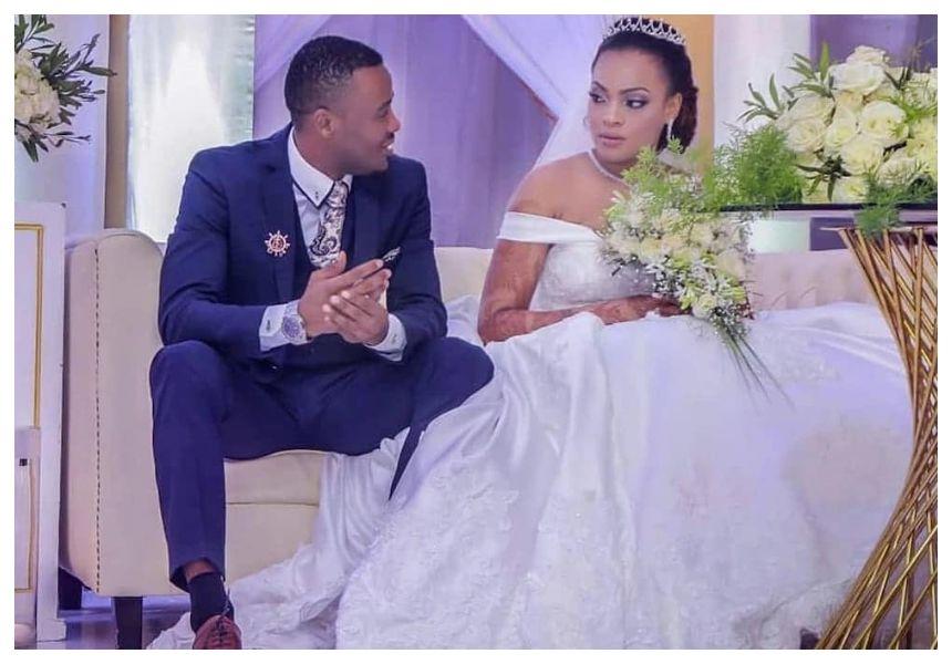 Alikiba publicly asks his estranged Kenyan wife Amina Khalef to ...